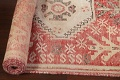 Antique Distressed Malayer Persian Runner Rug 4x12 image 14