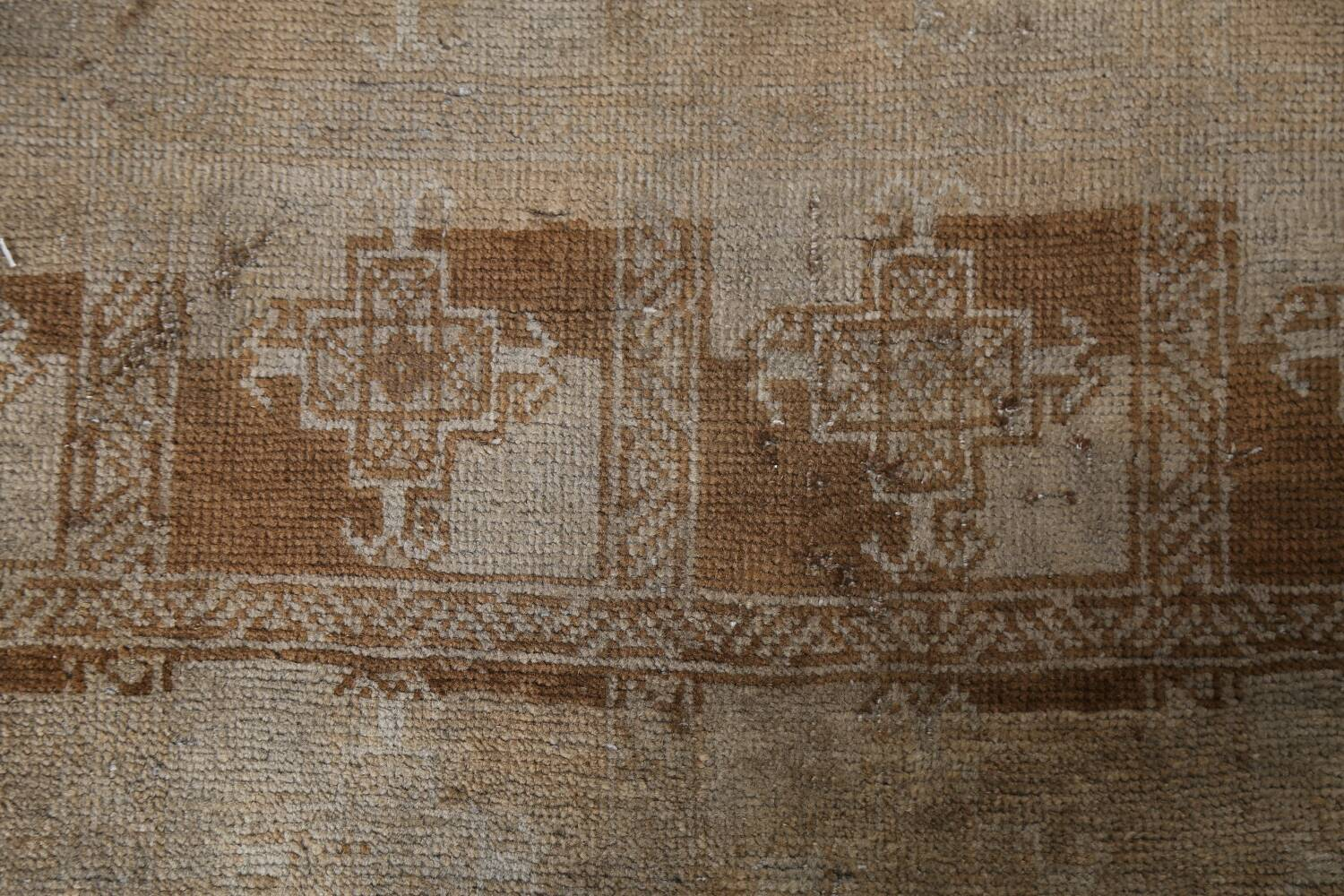 Antique Distressed Balouch Persian Wool Rug 4x8 image 8