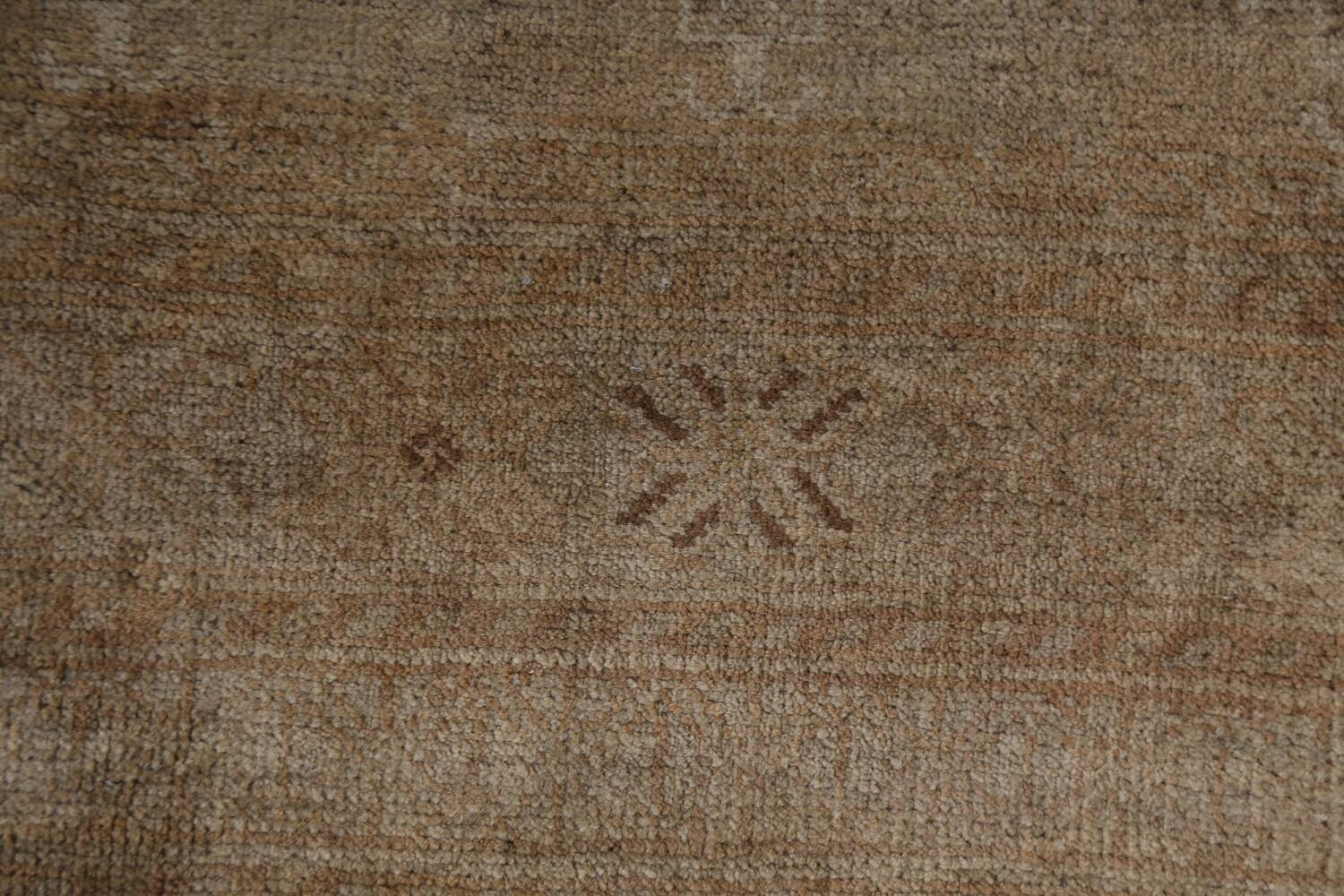 Antique Distressed Balouch Persian Wool Rug 4x8 image 9