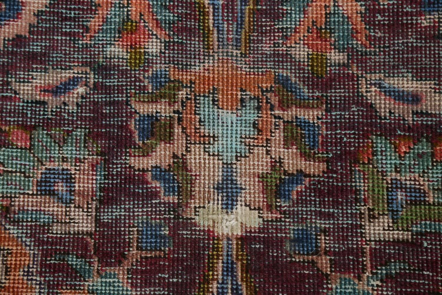 Antique Over-Dyed Tabriz Persian Area Rug 9x12 image 8