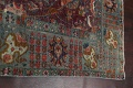 Antique Over-Dyed Tabriz Persian Area Rug 9x12 image 13