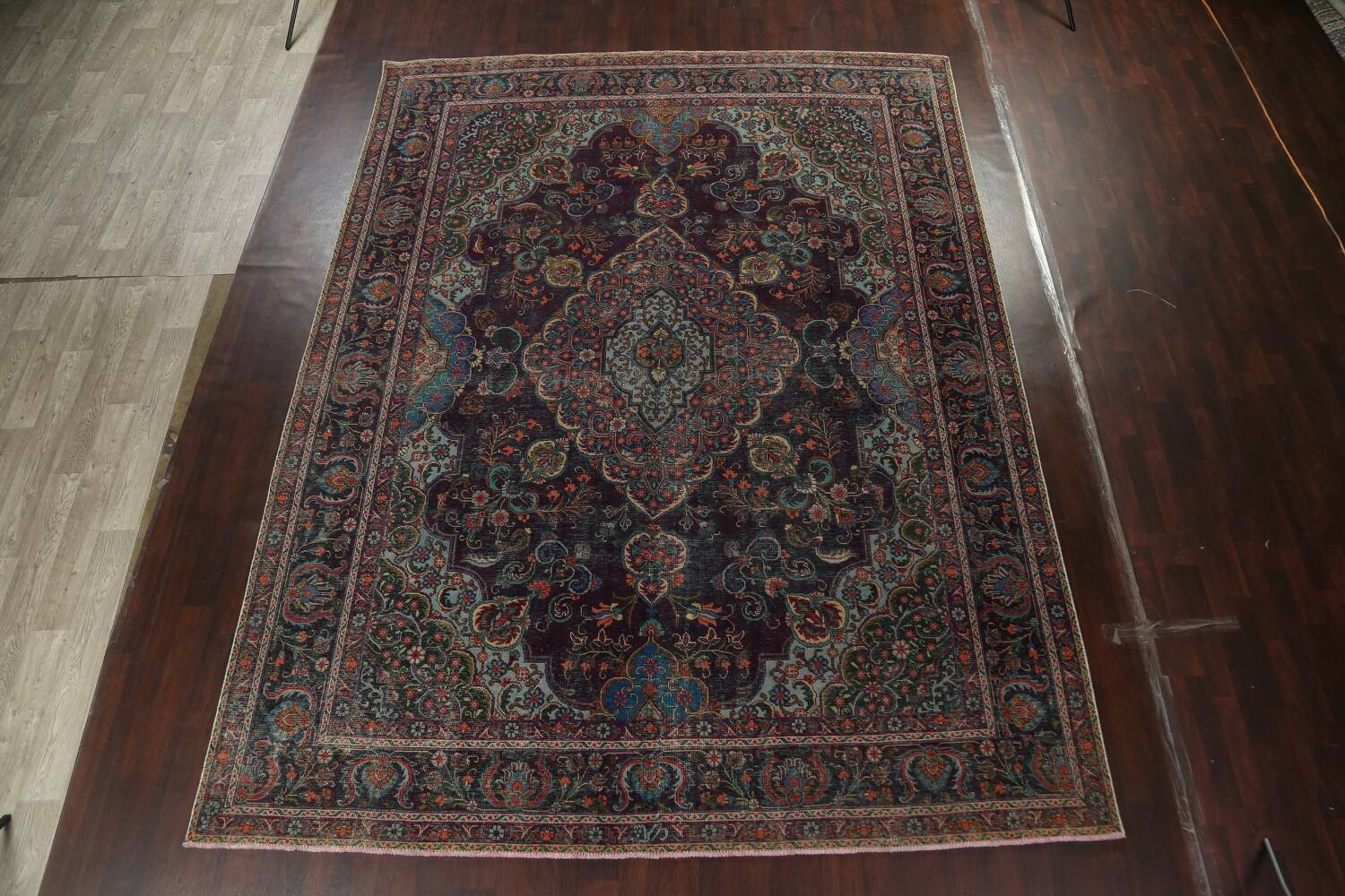 Over-Dyed Tabriz Persian Area Rug 10x13 image 2