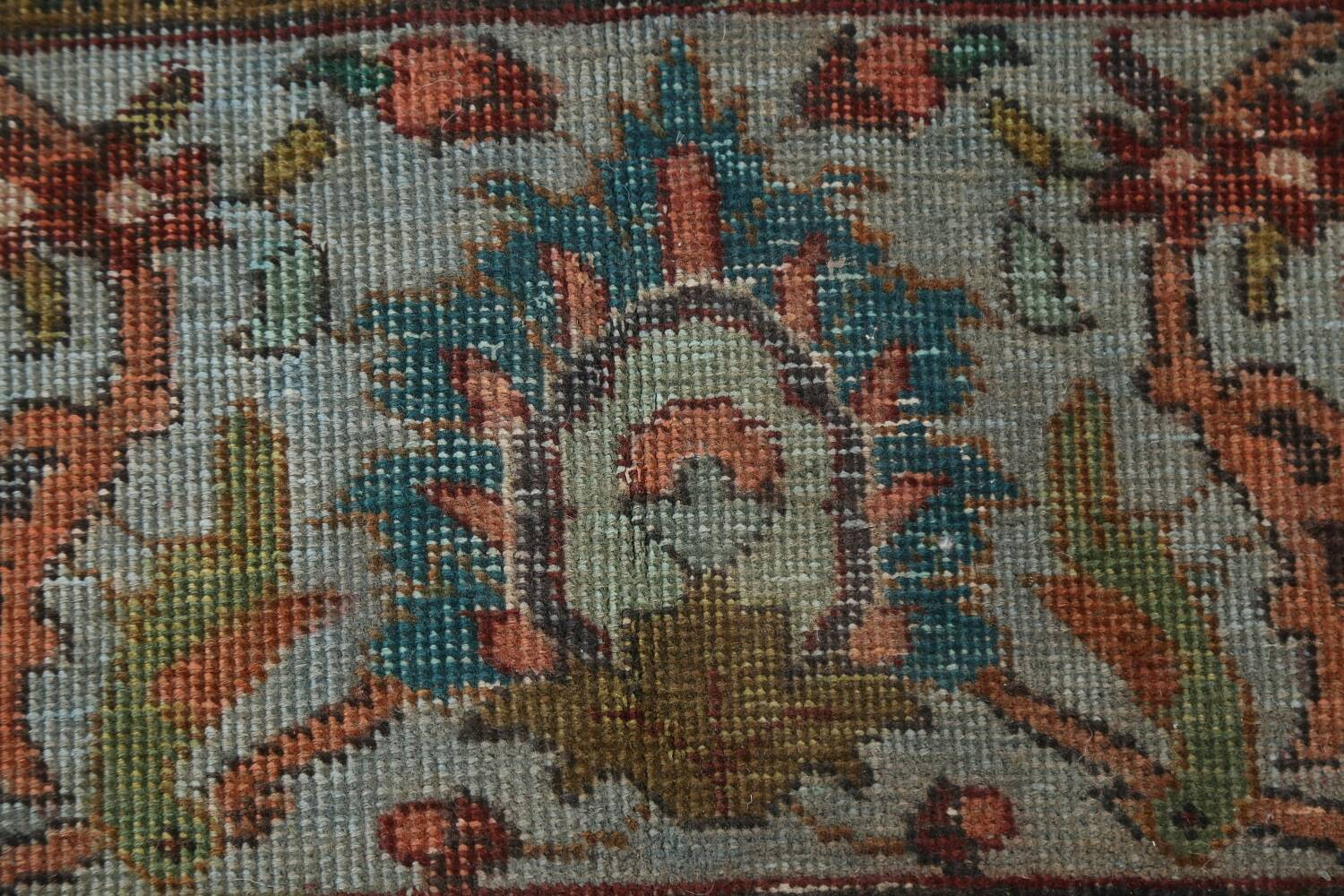 Over-Dyed Tabriz Persian Area Rug 10x13 image 11