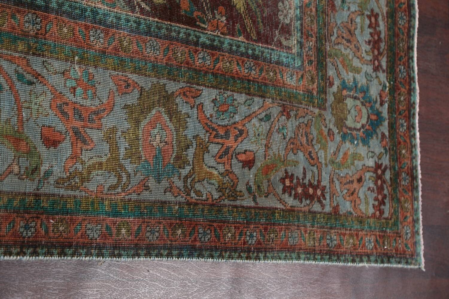 Over-Dyed Tabriz Persian Area Rug 10x13 image 14