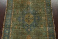 Antique Over-Dyed Tabriz Persian Area Rug 6x10 image 4