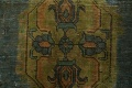 Antique Over-Dyed Tabriz Persian Area Rug 6x10 image 9