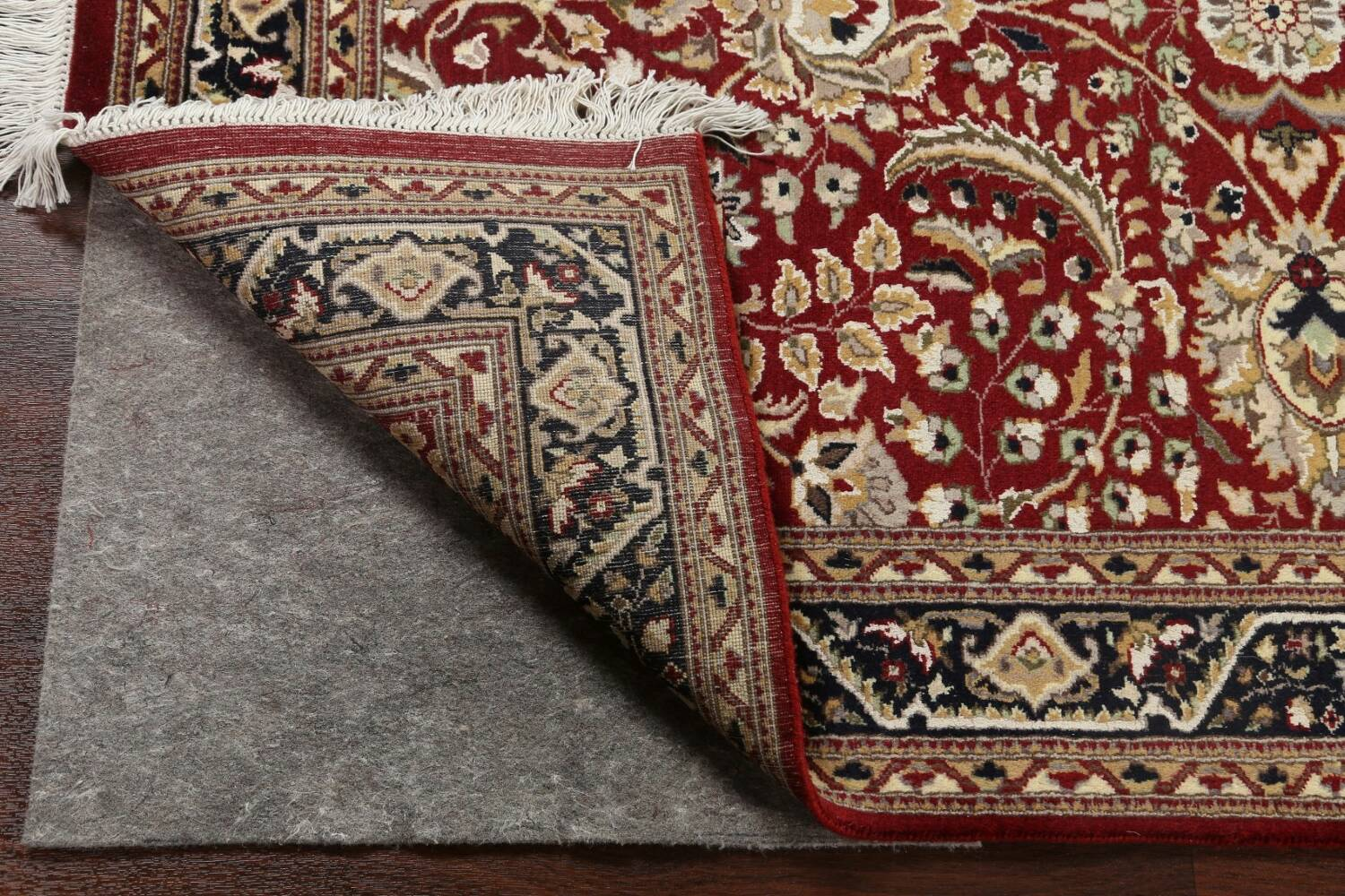 Vegetable Dye Aubusson Hand-Knotted Area Rug 4x6 image 7