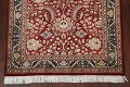 Vegetable Dye Aubusson Hand-Knotted Area Rug 4x6 image 5