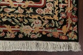 Vegetable Dye Aubusson Hand-Knotted Area Rug 4x6 image 6