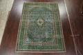 Antique Over-Dyed Kashan Persian Area Rug 8x11 image 2