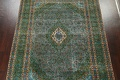 Antique Over-Dyed Kashan Persian Area Rug 8x11 image 3