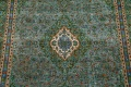 Antique Over-Dyed Kashan Persian Area Rug 8x11 image 4