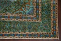 Antique Over-Dyed Kashan Persian Area Rug 8x11 image 6