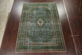 Antique Over-Dyed Kashan Persian Area Rug 8x11 image 13
