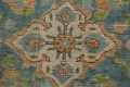 Antique Over-Dyed Tabriz Persian Area Rug 8x11 image 8