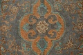 Antique Over-Dyed Tabriz Persian Area Rug 7x11 image 8
