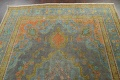 Antique Over-Dyed Tabriz Persian Area Rug 7x11 image 9