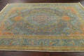 Antique Over-Dyed Tabriz Persian Area Rug 7x11 image 12