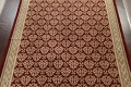 All-Over Red Aubusson Handmade Rug 10x14 image 3