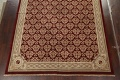 All-Over Red Aubusson Handmade Rug 10x14 image 5