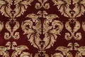 All-Over Red Aubusson Handmade Rug 10x14 image 8