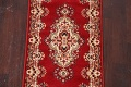 Red Floral Aubusson Oriental Rug 2x6 image 4