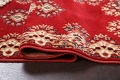 Red Floral Aubusson Oriental Rug 2x6 image 10