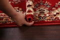 Red Floral Aubusson Oriental Rug 2x6 image 16