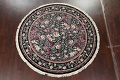Floral Aubusson Round Area Rug 8x8 image 2