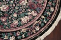 Floral Aubusson Round Area Rug 8x8 image 6