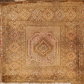 Square Balouch Persian Wool Rug 2x2 image 1