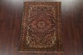 Antique Vegetable Dye Malayer Persian Area Rug 5x6 image 2