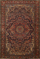 Antique Vegetable Dye Malayer Persian Area Rug 5x6 image 1