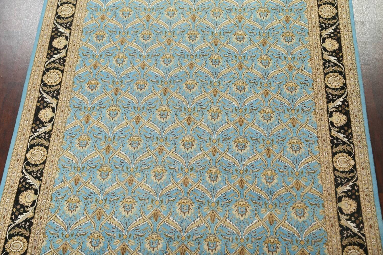 Vegetable Dye Aubusson Hand-Knotted Area Rug 8x10 image 3