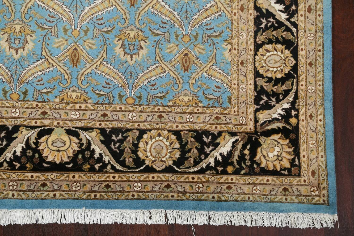 Vegetable Dye Aubusson Hand-Knotted Area Rug 8x10 image 6