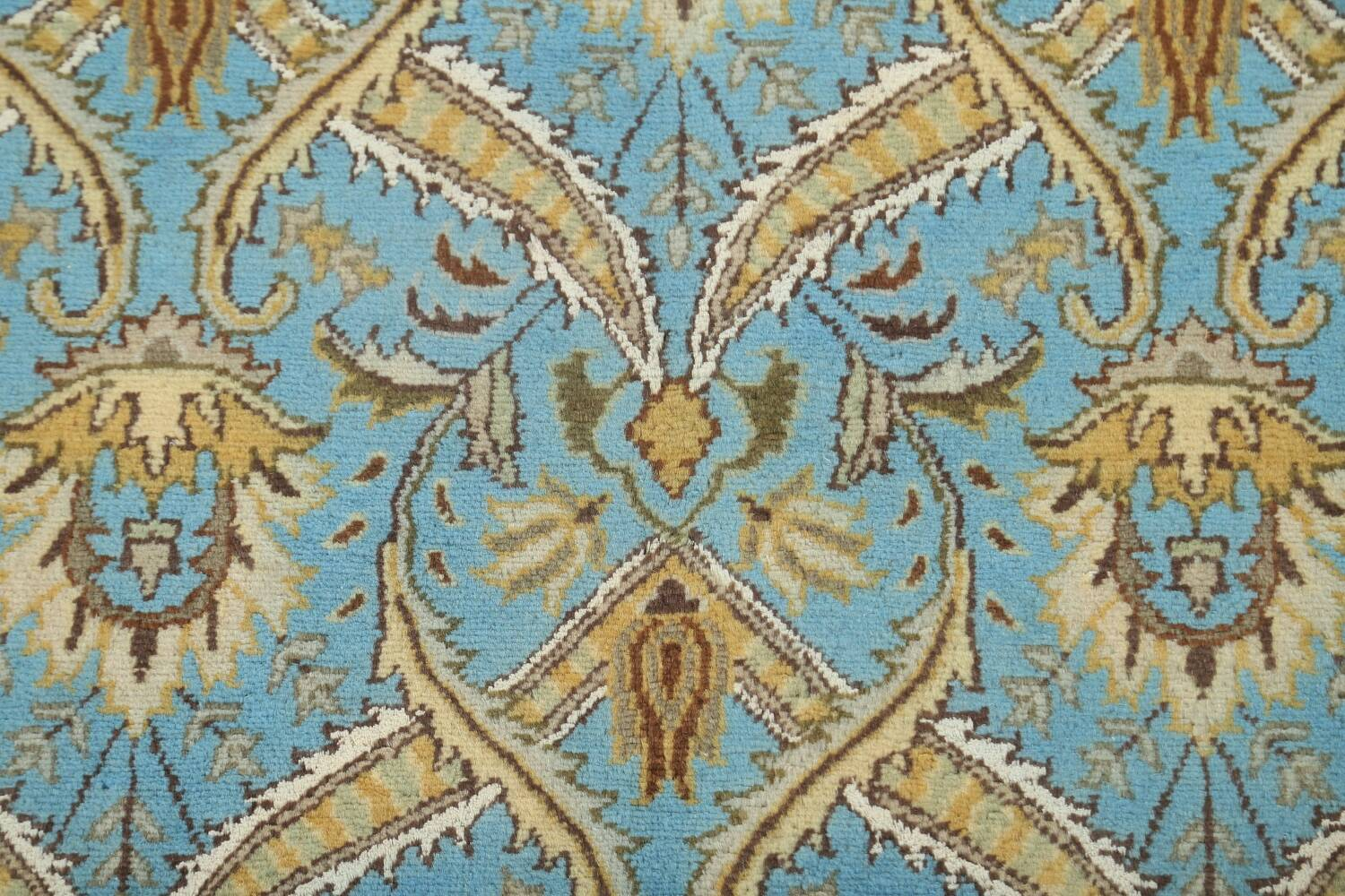 Vegetable Dye Aubusson Hand-Knotted Area Rug 8x10 image 8