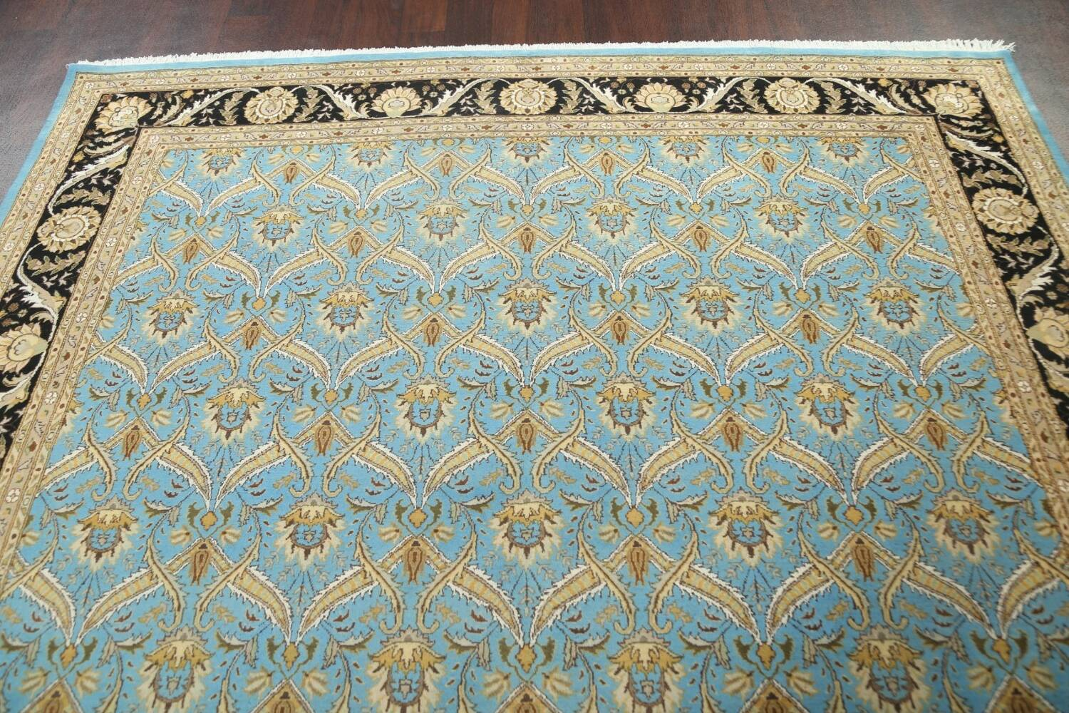 Vegetable Dye Aubusson Hand-Knotted Area Rug 8x10 image 9