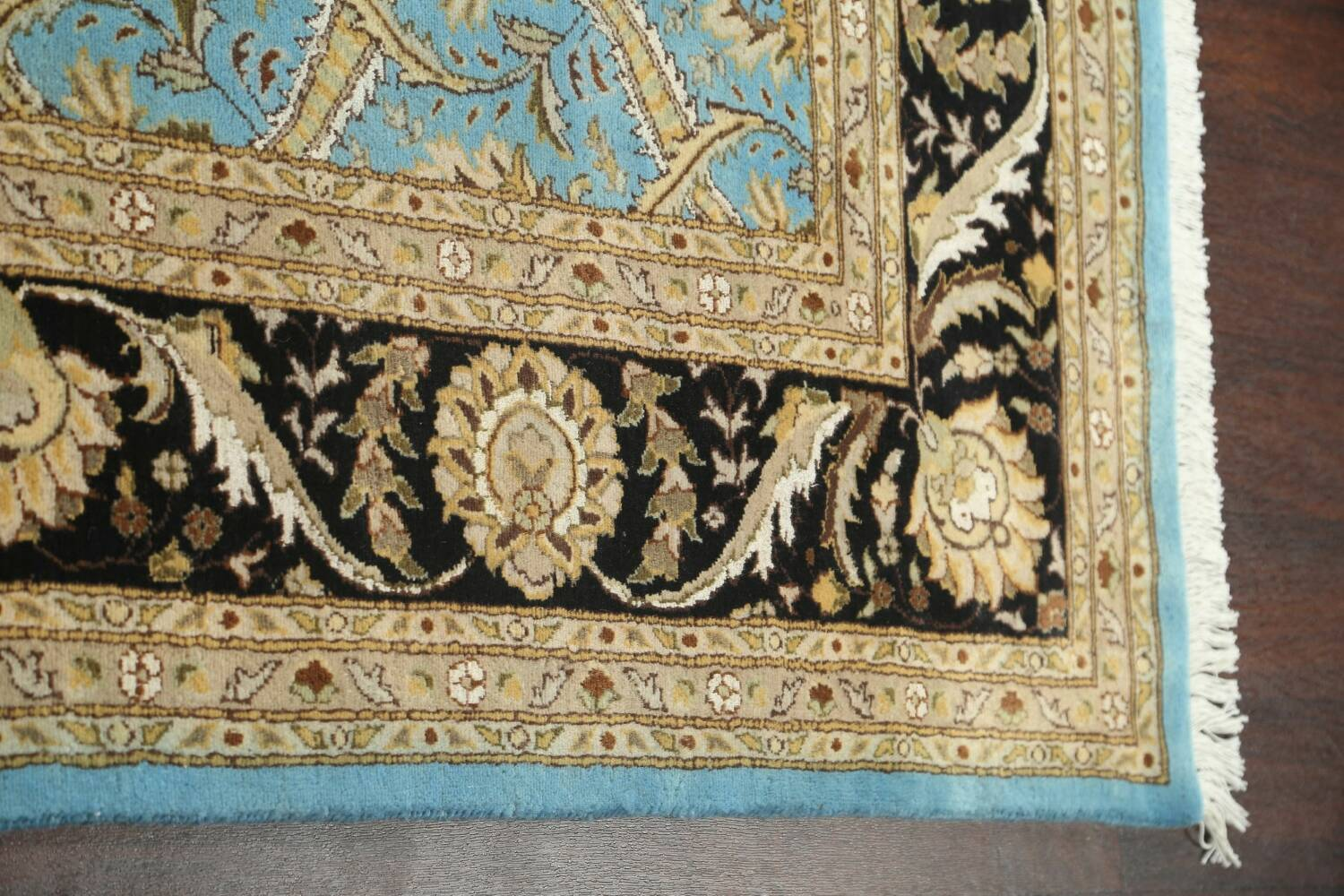 Vegetable Dye Aubusson Hand-Knotted Area Rug 8x10 image 10