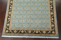 Vegetable Dye Aubusson Hand-Knotted Area Rug 8x10 image 5