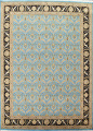 Vegetable Dye Aubusson Hand-Knotted Area Rug 8x10 image 1