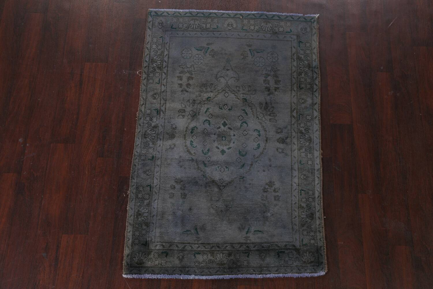 Over-Dyed Wool Tabriz Persian Rug 3x5 image 2