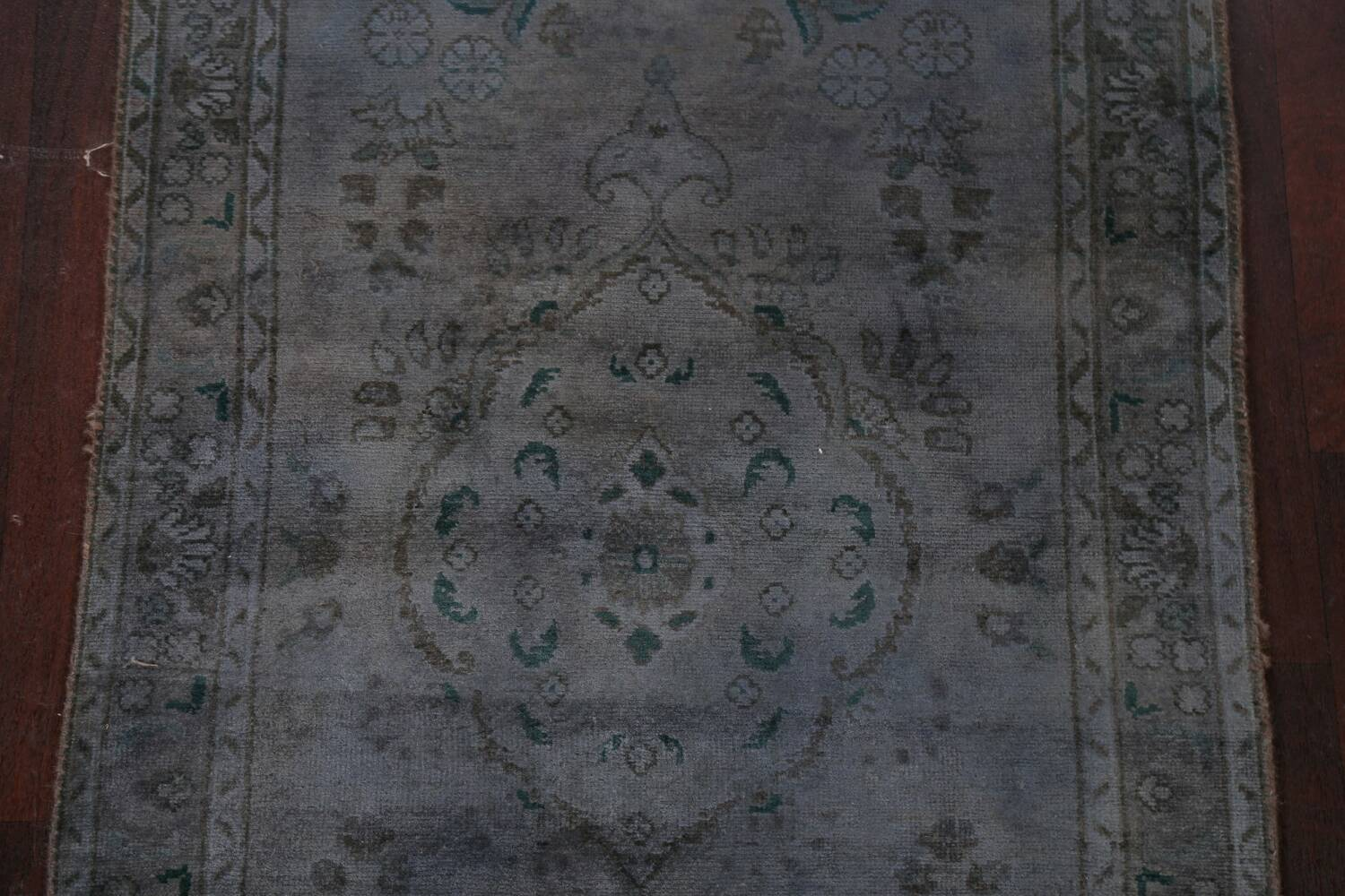 Over-Dyed Wool Tabriz Persian Rug 3x5 image 3
