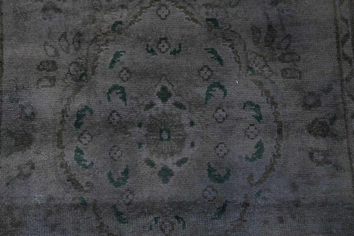 Over-Dyed Wool Tabriz Persian Rug 3x5 image 4