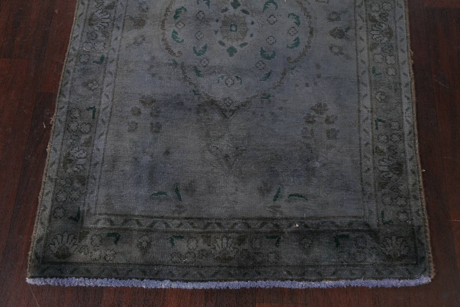 Over-Dyed Wool Tabriz Persian Rug 3x5 image 5