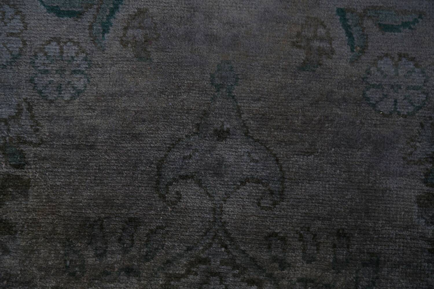 Over-Dyed Wool Tabriz Persian Rug 3x5 image 9