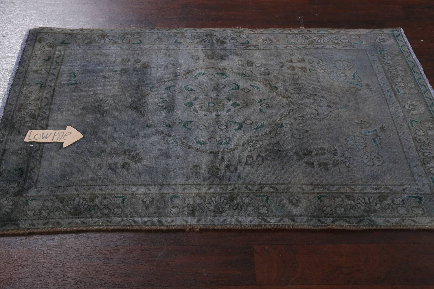 Over-Dyed Wool Tabriz Persian Rug 3x5 image 11