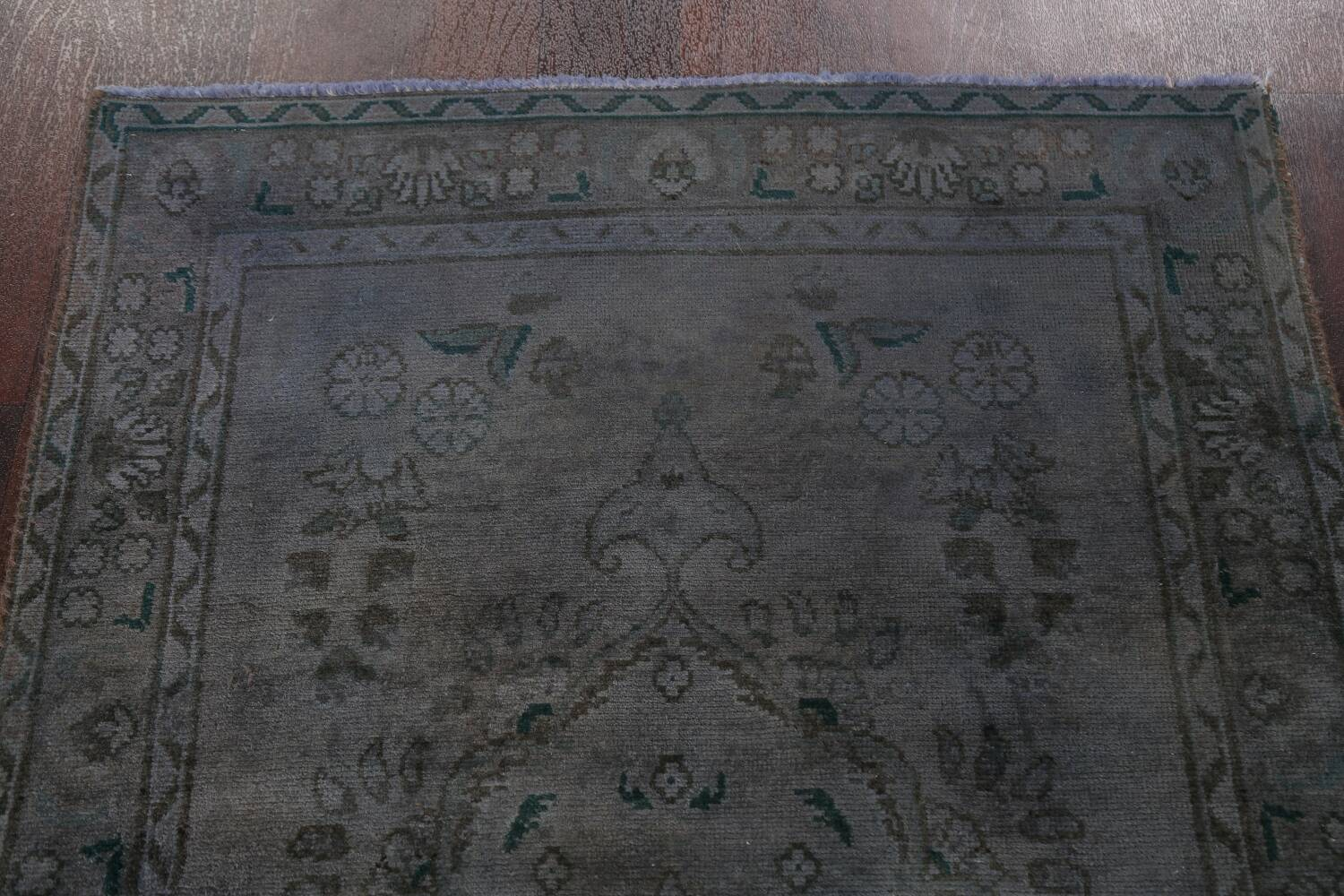 Over-Dyed Wool Tabriz Persian Rug 3x5 image 13