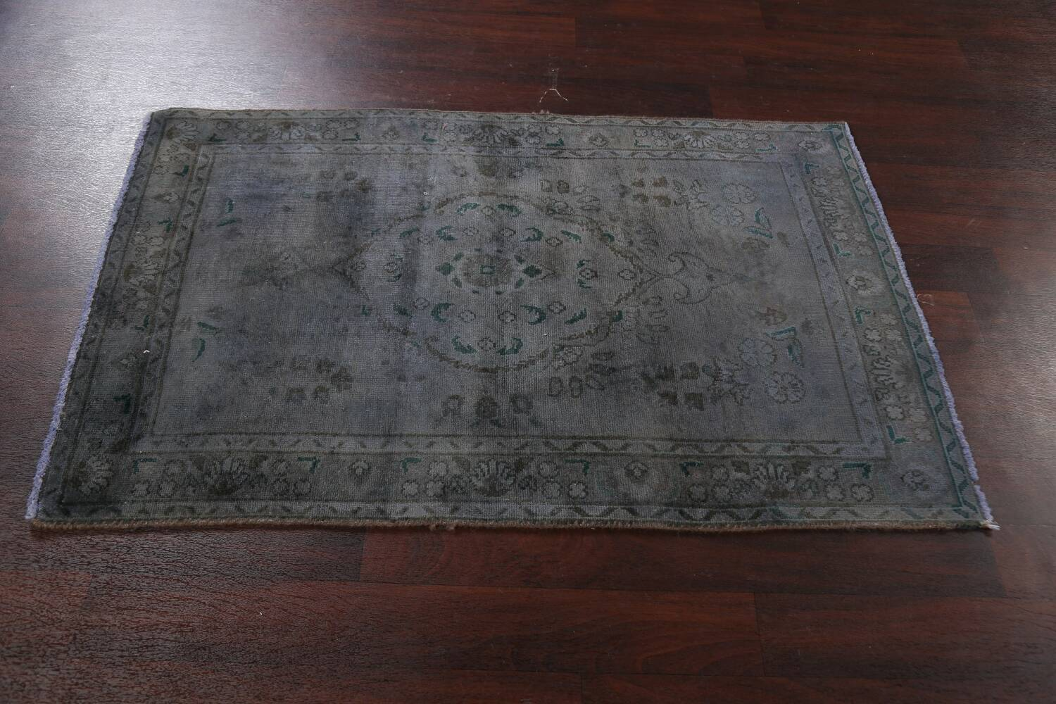 Over-Dyed Wool Tabriz Persian Rug 3x5 image 15