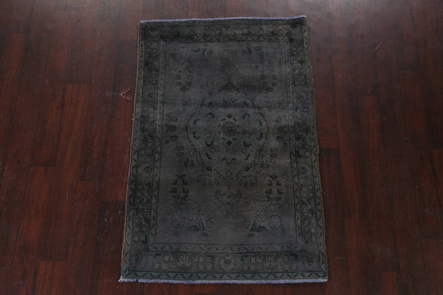 Over-Dyed Wool Tabriz Persian Rug 3x5 image 16