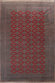 Red Bokhara Wool Area Rug 8x11 image 1